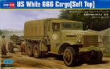 HBB83802 1/35 US White 666 Cargo Truck (Soft Top)